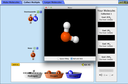 Screenshot of the simulation Build a Molecule