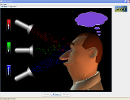 Screenshot of the simulation Visione dei Colori