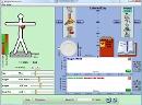 Screenshot of the simulation Yemek ve Eksersiz