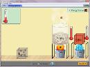 Screenshot of the simulation شکل ها و تبدیل های انرژی