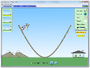 Screenshot of the simulation Energa en el Parque del Patinador:Fundamentos