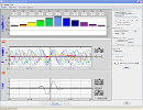 Screenshot of the simulation Fourier: Lainete tekitamine