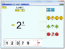 Screenshot of the simulation Créer des fractions
