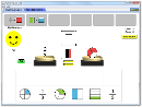 Screenshot of the simulation 分数匹配器