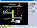 Screenshot of the simulation واکنش های برگشت پذیر