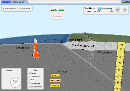 Screenshot of the simulation Pladetektonik