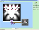 Screenshot of the simulation Davisson-Germer: Elektron Kırınımı