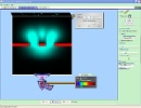Screenshot of the simulation Interferencia de Onda Cuántica