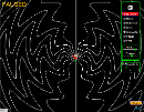 Screenshot of the simulation Radiating Charge