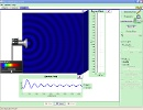 Screenshot of the simulation Interferencia de ondas